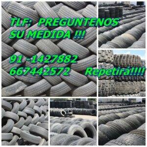 Imagen de ruedas semiuevas y el númer ode teléfono de Ruedamundo neumáticos seminuevos
