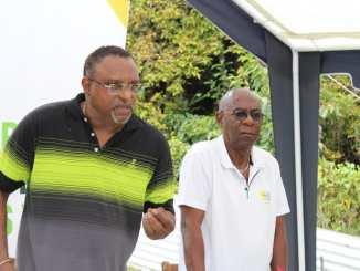 Christian Civilise et Guy Equinoxe, chefs de fil de Caraïbe écologie-Les Verts