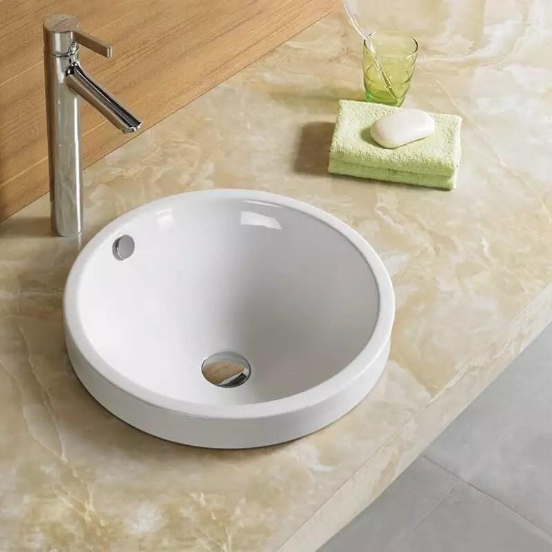 Vasque Semi Encastre Rani Vasque Encastrer Cramique