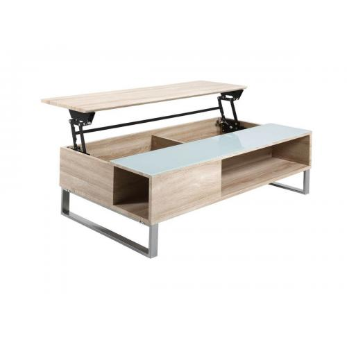 bobochic table basse 110 cm azea chene