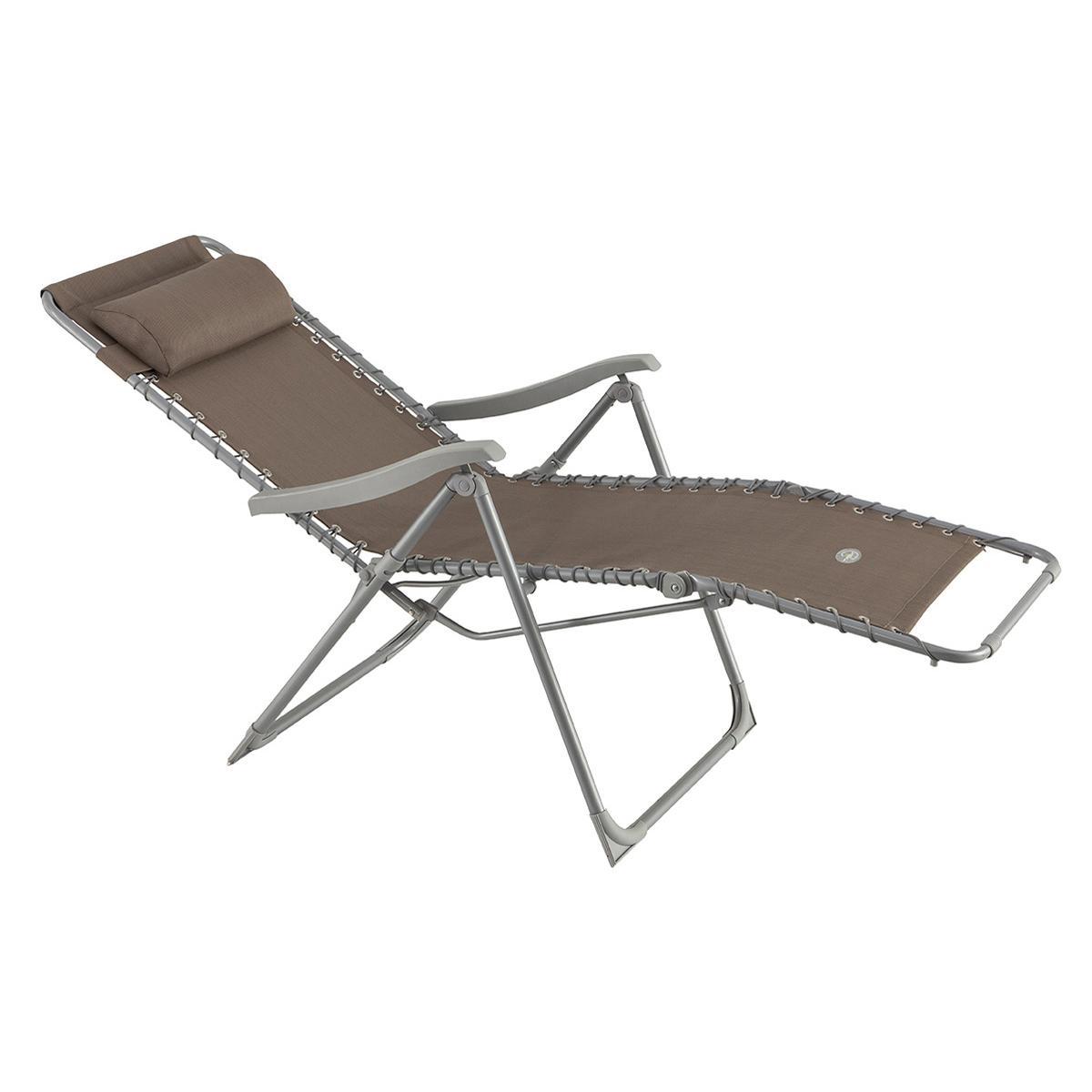 https www rueducommerce fr produit hesperide fauteuil de jardin relax silos taupe 27894352