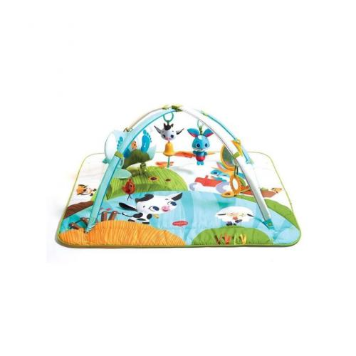 tiny love tapis de jeu gymini kick and play farm