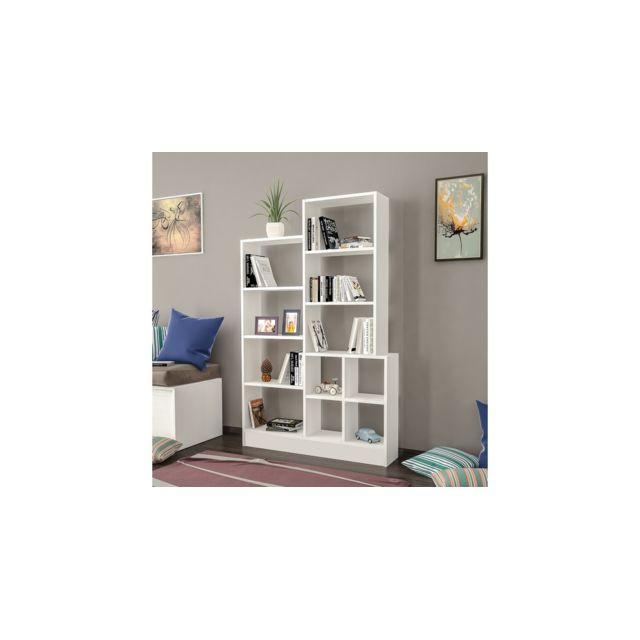 homemania bibliotheque monde avec etageres meuble de rangement pour salon