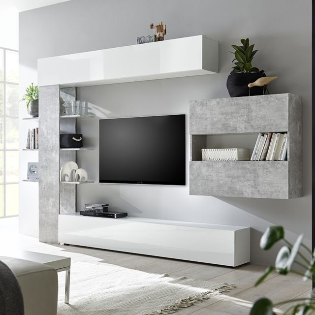 kruh svađa duznik meuble tv italien