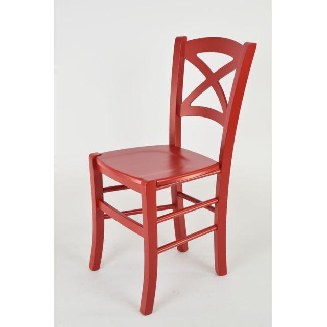 tommychairs set 2 chaises cross pour la cuisine bar et la salle a manger
