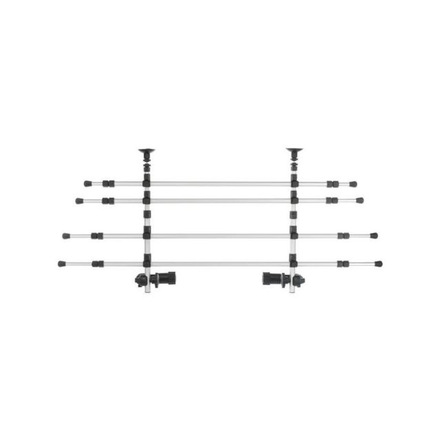 trixie grille de separation voiture l 105 172 cm h 46 60 cm argent et