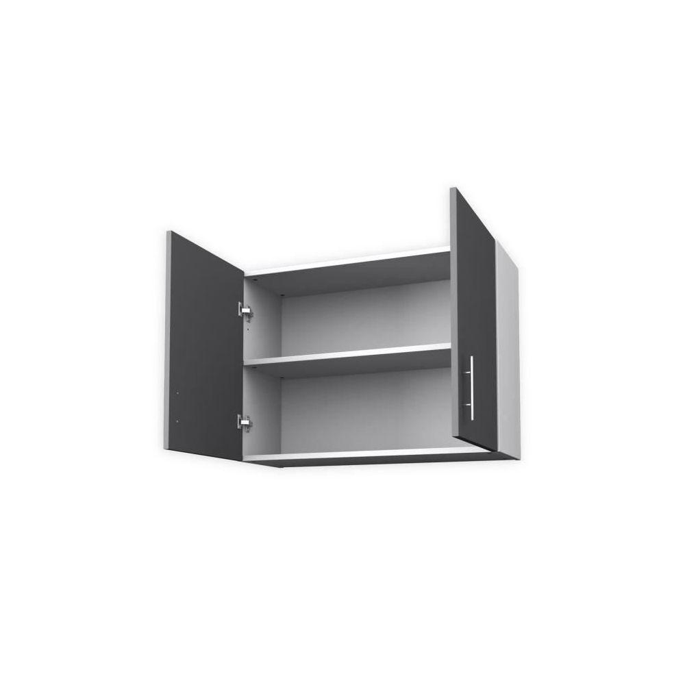 80 cm gris mat meubles de cuisine
