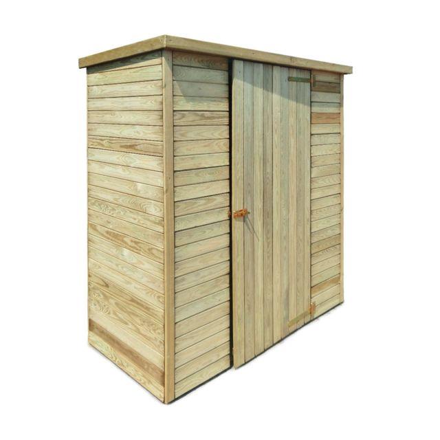 abri de jardin en bois marie 0 92 m