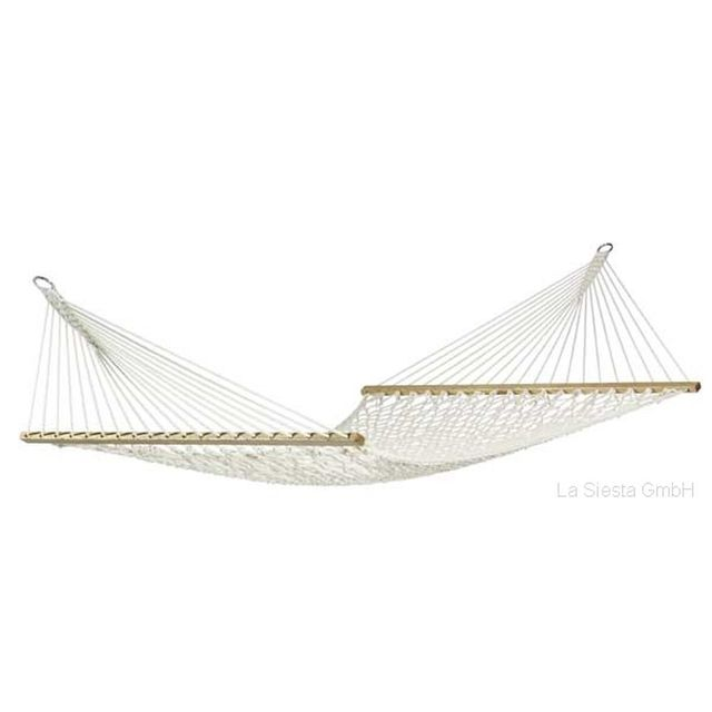 la siesta hamac a barres xxl virginia filet 370x140 cm