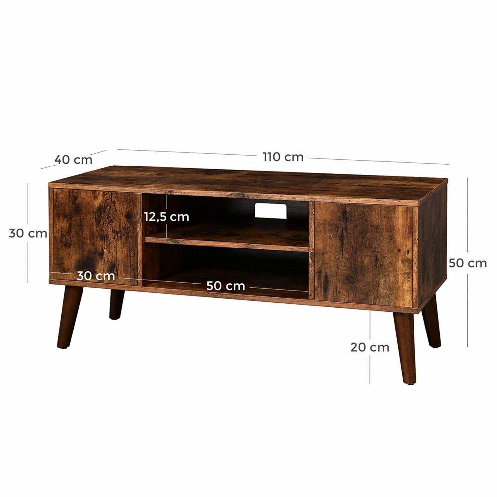 meuble tv rustique table basse buffet