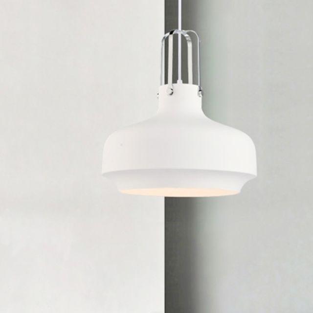 Wewoo Lampe Suspendue Luminaire Salon Nordique Moderne Lustre Creatif Macaron Avec Ampoule E27 Approprie Pour Salle A Manger Chambre Blanc Suspensions Lustres Rue Du Commerce