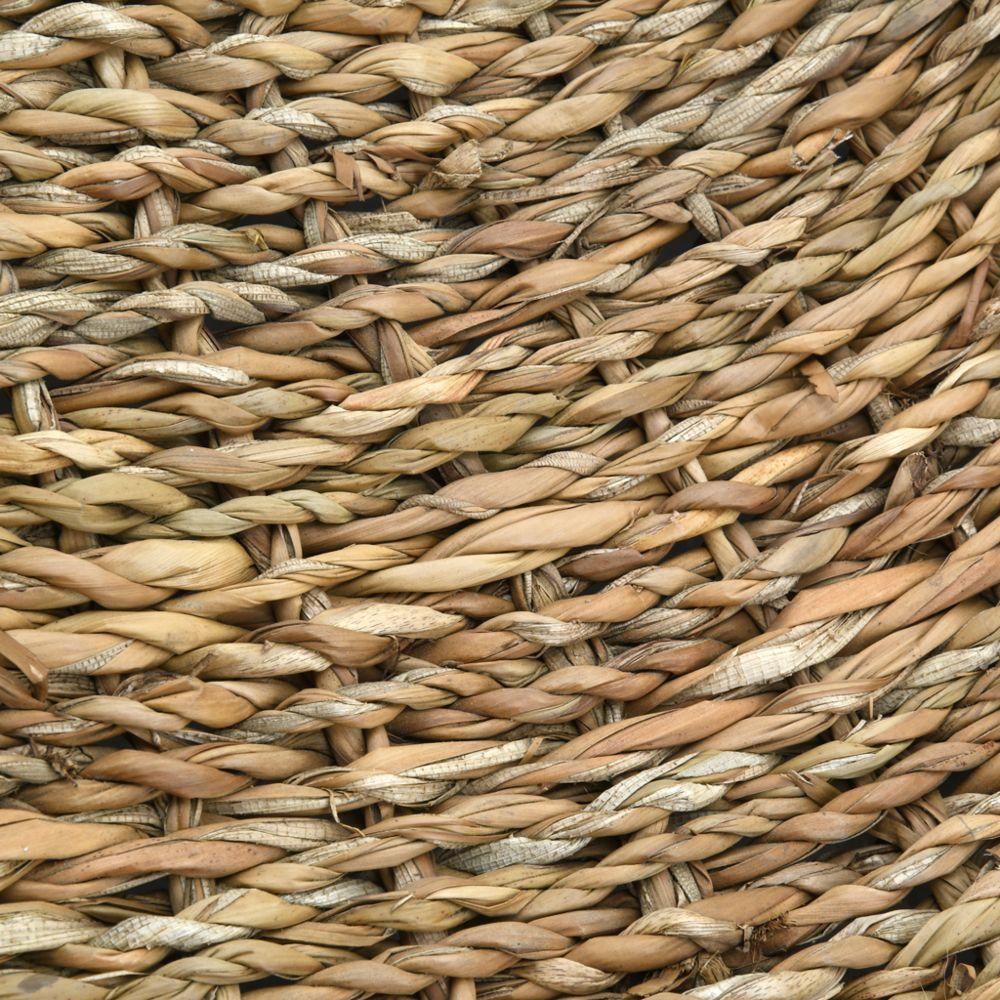 aubry gaspard tapis rond en jonc de mer 180 cm