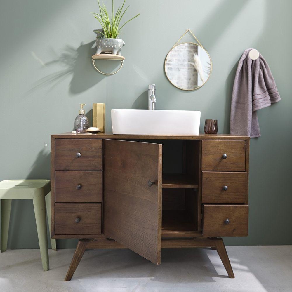 bois dessus bois dessous meuble de salle de bain en bois de mindy 100