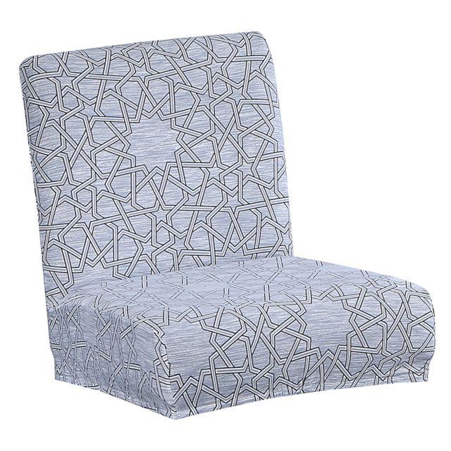 housse de chaise courte a dossier bas hauteur de comptoir tabouret a light