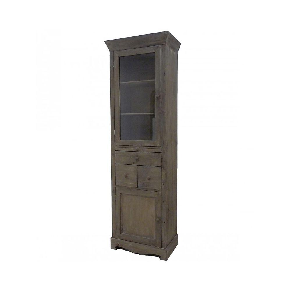 temps colonne vitrine style