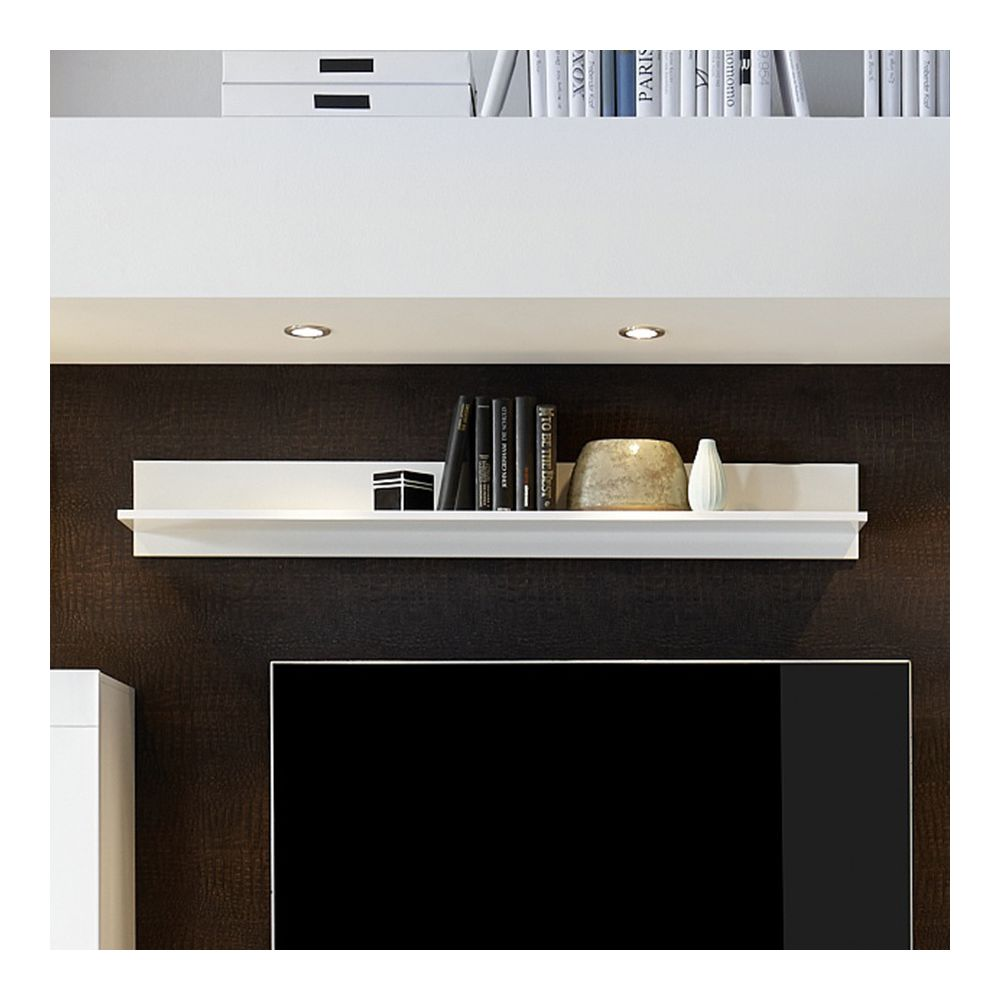 design blanc laque etageres
