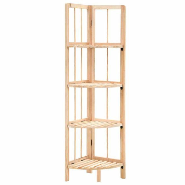 etagere armoire meuble design etagere d angle bois de cedre 110 cm 2702056 2