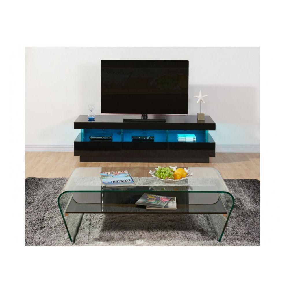 vente unique meuble tv fabio mdf