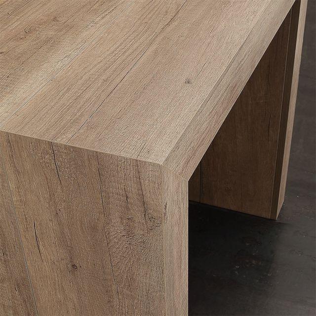 table console extensible 3m coloris bois clair altea