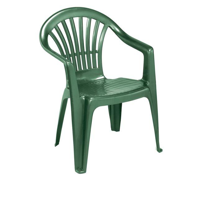 chaise de jardin altea verte
