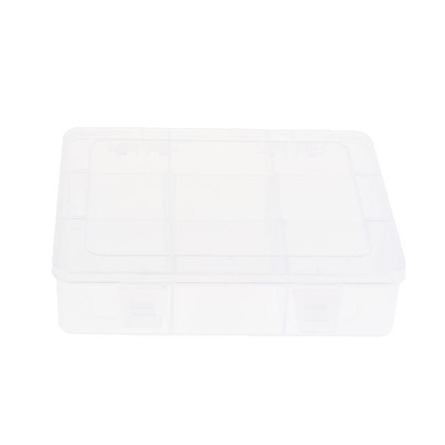 boite de rangement plastique transparent