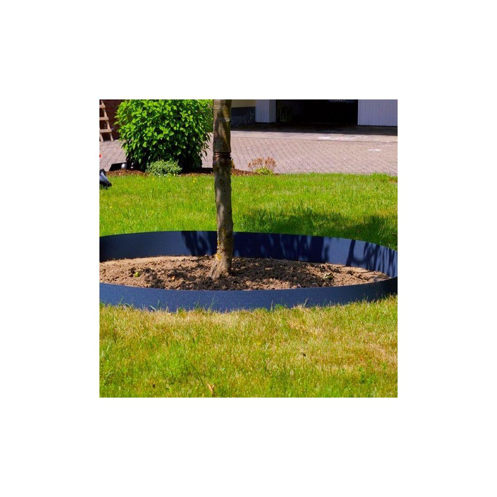 agco bordure jardin flexible plastique 12cmx12m epaisseur 2mm