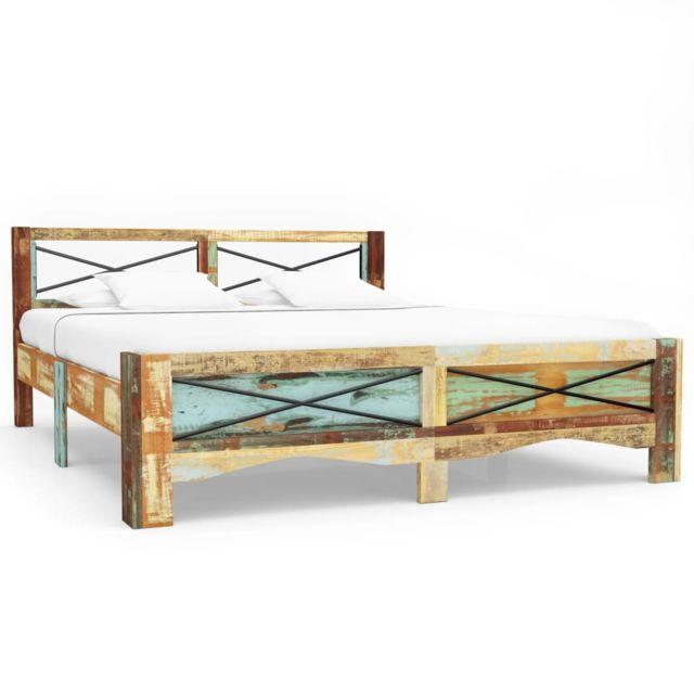 splendide lits et accessoires reference amman cadre de lit bois de