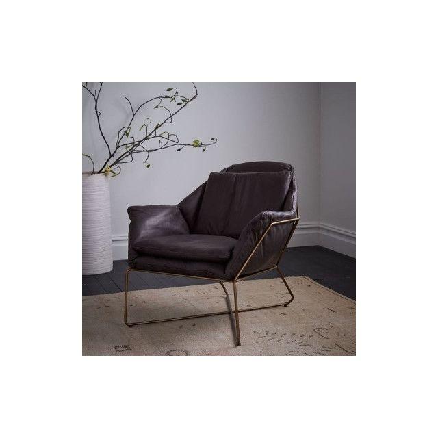 fauteuil sofa de salon de balcon simple moderne d art de ferpieds d or coussin