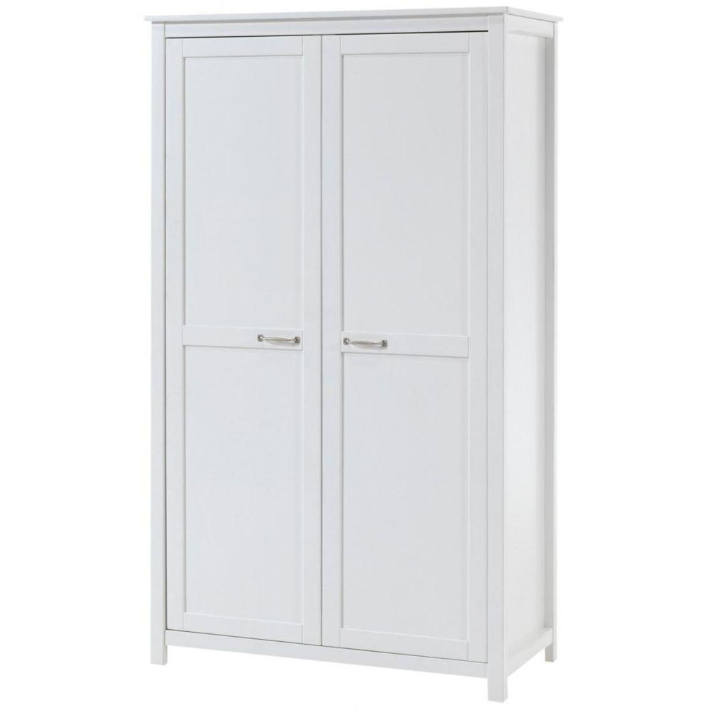 armoire pin blanc