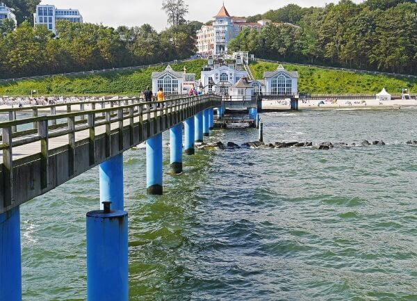 Die Seebrücke von Sellin auf Rügen