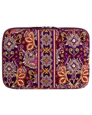 Vera Bradley 17in Laptop Sleeve in Safari Sunset