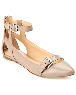 Belle by Sigerson Morrison 'Veasna' Leather Flat