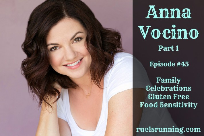 Ru El's Running 045 : Featured Guest – Anna Vocino – Part 1