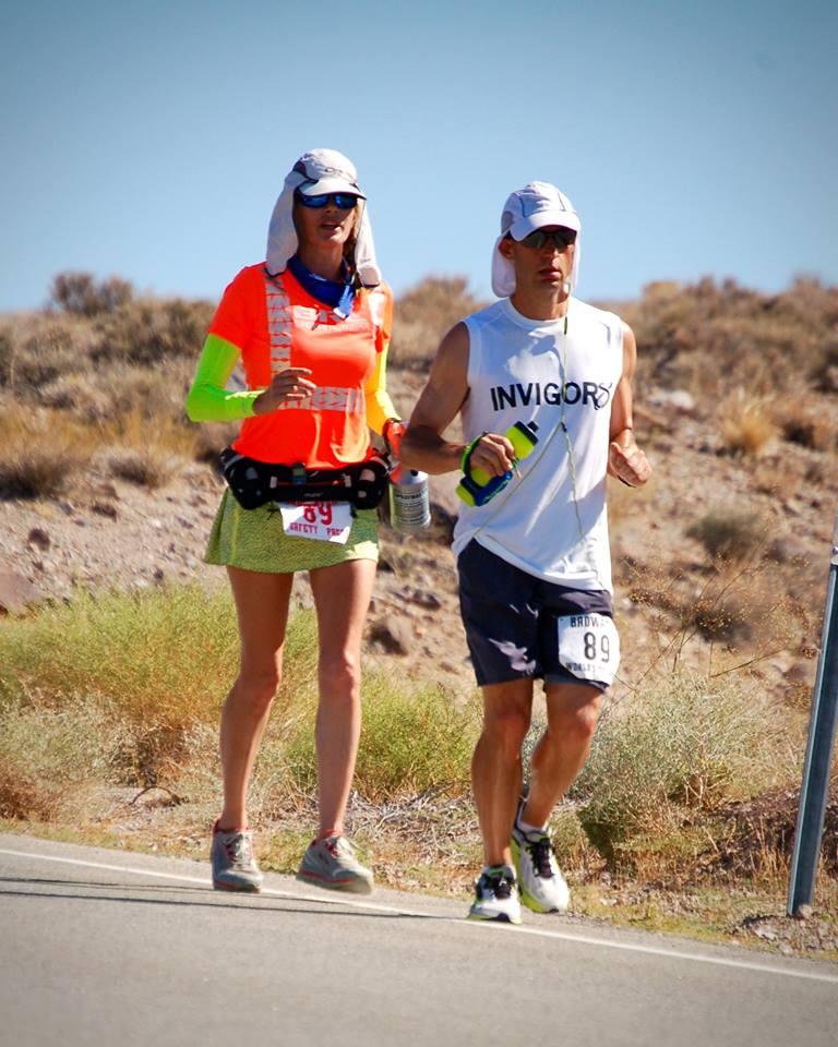 Tony Portera and Serena Scoot Thoms. Image courtesy: Tony Portera