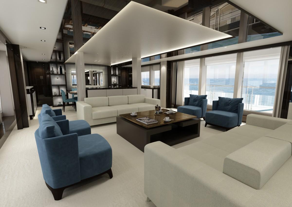 Ultra Modern Home Bar Design