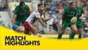 video rugby London Irish v Harlequins  - Aviva Premiership Rugby 2014/15