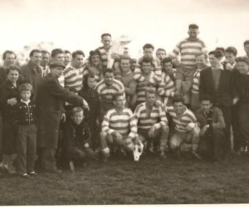 Rugby Club Hilversum: Kampioenschap 1e RC Hilversum 30 april 1957