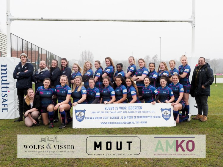 All Blues Teamfoto - RugbyClubHilversum.nl
