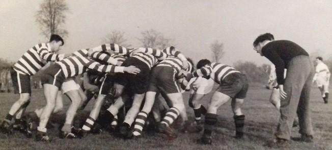 Rugby Club Hilversum - Scrum 1959