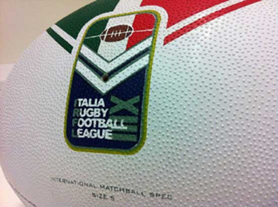 Italy Rugby League ball