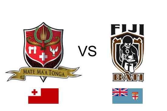 Tonga vs Fiji