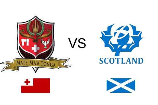 Scotland v Tonga 2017 RLWC