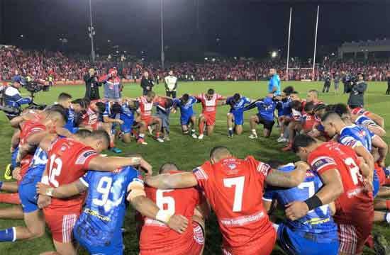 Tonga and Samoa Rugby League