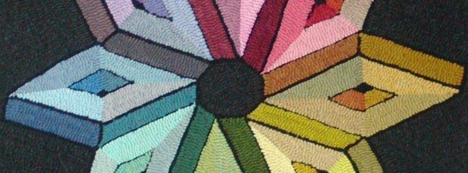 rug hooking color wheel