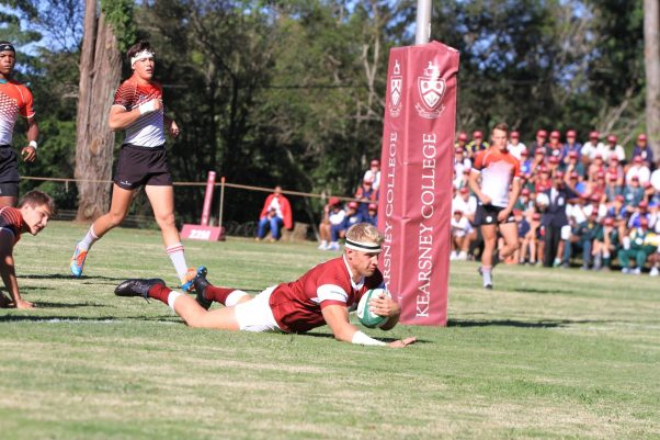 Rugby - Kearsney's Dylan Richardson in the win against Welkom Gimnasium