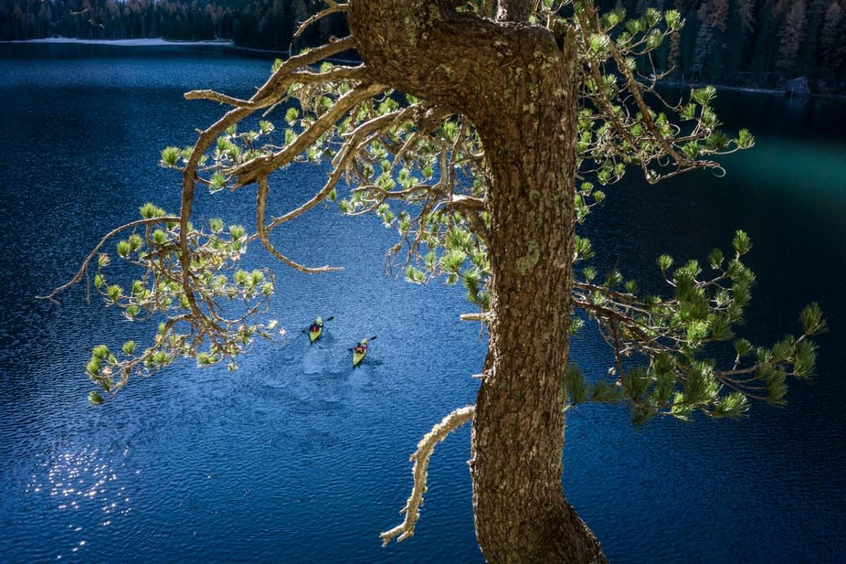 summer paddling