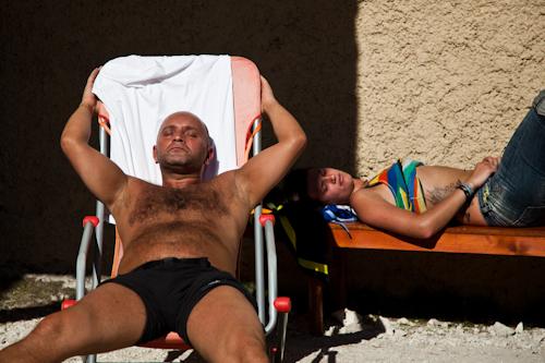 the last sunbathing