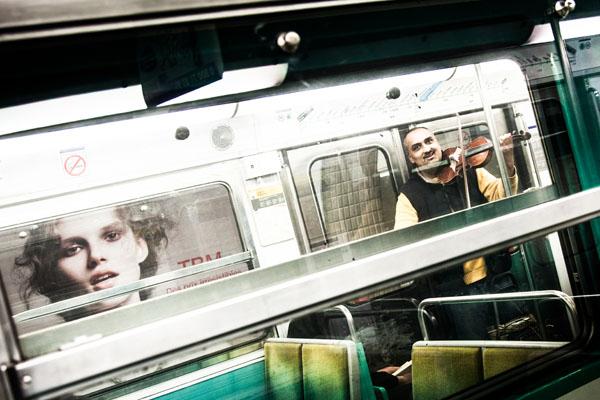 croisé dans le métro