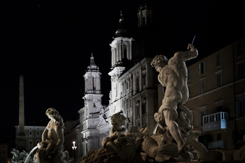 ancient Rome by night 3