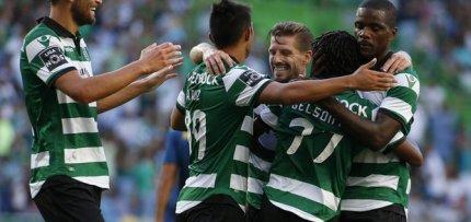 Sporting vence Moreirense por 3-0 e mantém o primeiro lugar